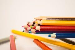Farbiger Bleistift Stockfotos