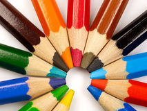 Farbiger Bleistift Stockfotografie