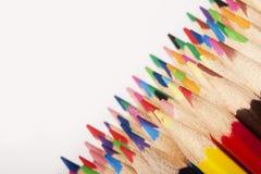 Farbiger Bleistift-Auszug! Stockfoto