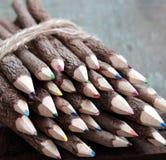 Farbiger Bleistift, colouful Zeichenstift Stockbilder