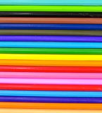Farbiger Bleistift lokalisiert auf weißem Hintergrund Lizenzfreie Stockfotografie