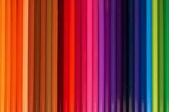 Farbiger Bleistifthintergrund Lizenzfreie Stockfotografie