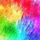 Farbiger Bleistifthintergrund lizenzfreie abbildung