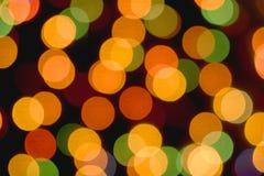 Farbiger bokeh Hintergrund Lizenzfreie Abbildung