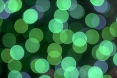 Farbiger bokeh Hintergrund Lizenzfreies Stockbild