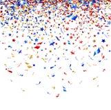 Farbiger Confetti Stockbild