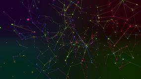Farbiger Geometriezusammenfassungshintergrund Stockbild