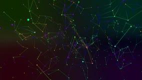 Farbiger Geometriezusammenfassungshintergrund Lizenzfreie Stockfotografie