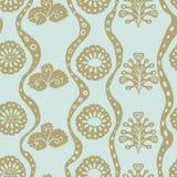 Farbiger Hintergrund mit einem einfachen Muster stock abbildung