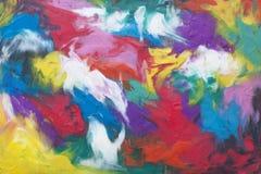 Farbiger Hintergrund von Plasticine Lizenzfreies Stockbild