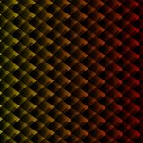 Farbiger Hintergrund von Quadraten Dekorativer Hintergrund, auf dem zwei Kuss gegenüberstellt lizenzfreie abbildung