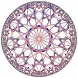 Farbiger hyperbolischer Tessellation Lizenzfreie Stockbilder