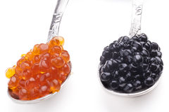 Farbiger Kaviar Lizenzfreies Stockbild