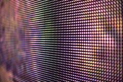 Farbiger LED-Schirm smd Hintergrund Stockbilder