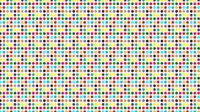 Farbiger Punkthintergrund Stockbild