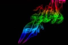 Farbiger Rauch Lizenzfreie Stockfotografie