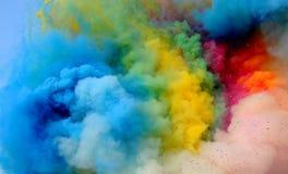 Farbiger Rauch Lizenzfreies Stockbild