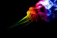 Farbiger Rauch Stockfotografie
