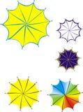 Farbiger Regenschirm Lizenzfreie Stockfotografie