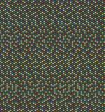 farbiger sechseckiger Hintergrund Stockfoto