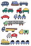 Farbiger Transport Lizenzfreie Stockfotografie