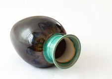 Farbiger Vase Stockfoto