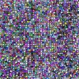 Farbiger Würfelhintergrund Stockfotografie