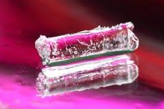 Farbiges Eis Stockbilder