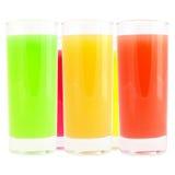 Farbiges Getränk Lizenzfreies Stockbild