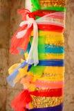 7 farbiges Gewebe Stockfotos