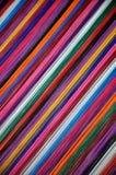 Farbiges Gewinde Stockbild