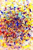Farbiges Glas Stockfoto