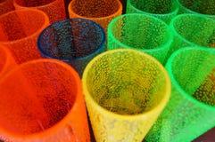 Farbiges Glas Stockbilder