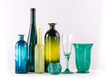 Farbiges Glas Stockfoto