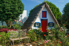 Farbiges Haus Stockbild