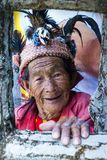 farbiges Igorot banaue Philippinen stockbild