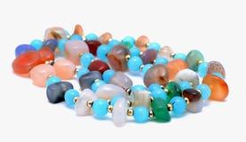 Farbiges jewelery Lizenzfreies Stockfoto