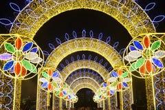Farbiges LED-Licht Lizenzfreies Stockfoto