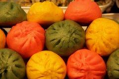5 farbiges Mandu Lizenzfreie Stockfotografie