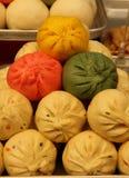 5 farbiges Mandu Stockbilder