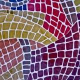 Farbiges Muster Stockbilder