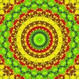 Farbiges Nettomuster Stockbild