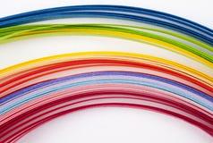 Farbiges Papier Stockbild