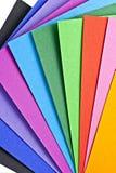 Farbiges Papier. Stockbilder