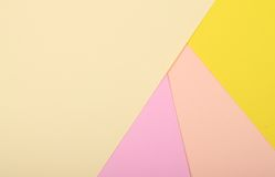 farbiges Papier Stockfotografie