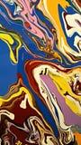 Farbiges Papier des Marmors Stockfotografie