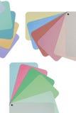 Farbiges Papier für Entwerfer Lizenzfreie Stockfotografie
