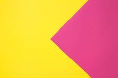 Farbiges Papier in geometrischem Lizenzfreies Stockbild
