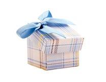 Farbiges Papier, Geschenkboxen. Stockbild