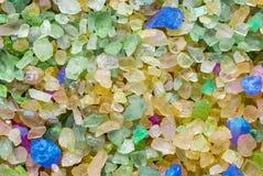 Farbiges Salz Lizenzfreie Stockbilder
